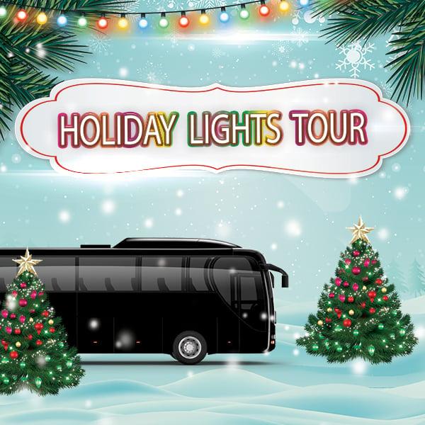 Holiday Lights Tour Minneapolis Minnesota Party Bus Rental