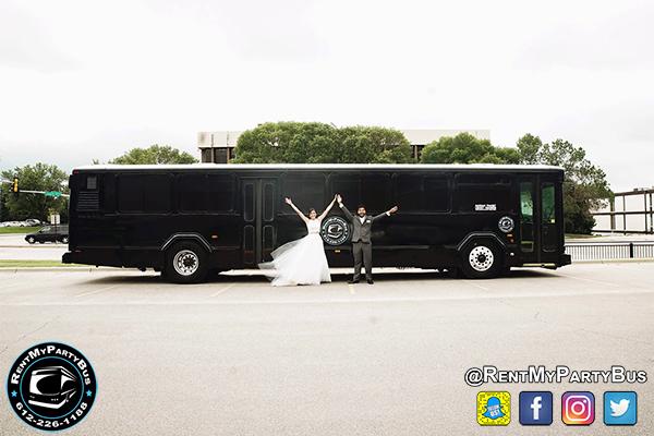 Black Onyx Party Bus