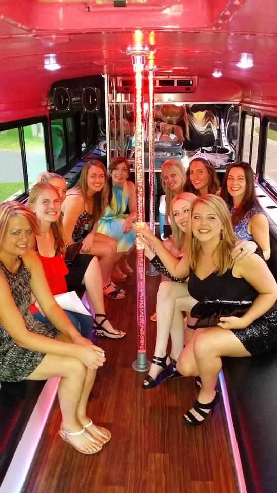 pink diamond limo bus mn