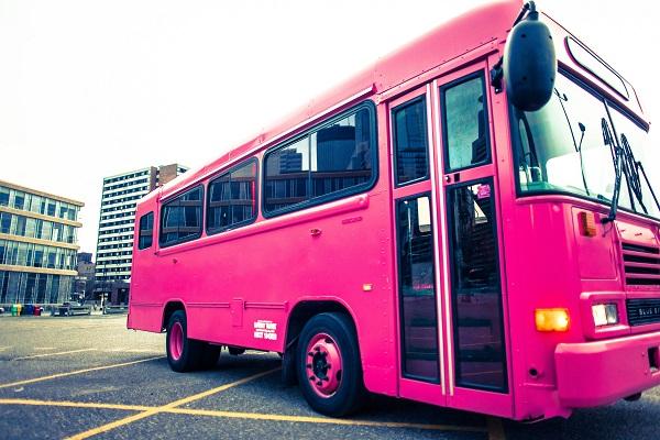 Pink Diamond Party Bus MN