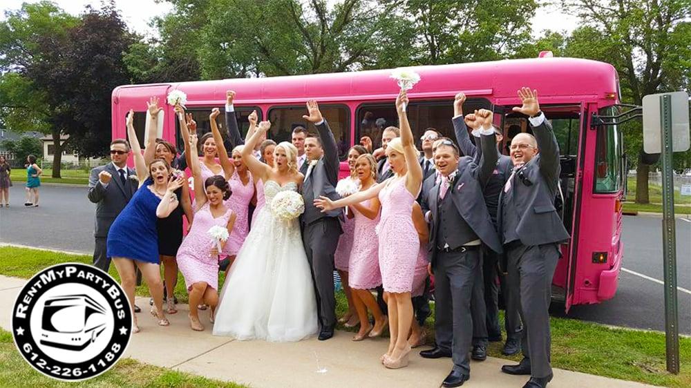 Pink Diamond Party Bus